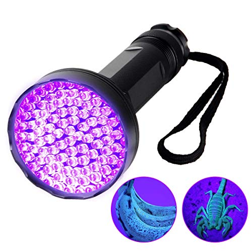 UV Flashlight Light Flashlight Ultraviolet LED Pets Urine Stains Detector